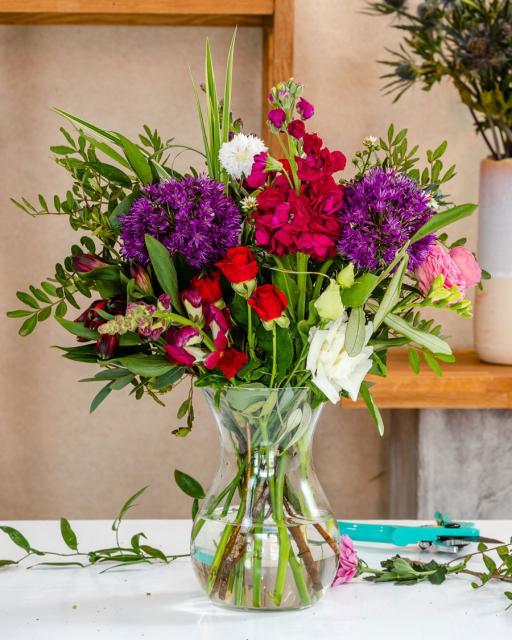 Фестиваль цветов - фантазия флориста