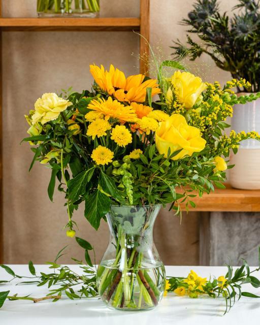 Солнечный луч - фантазия флориста